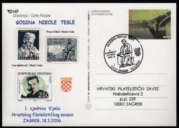 Croatia Zagreb 2006 / Nikola Tesla Year - Croatia