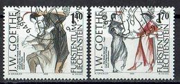 Liechtenstein 1999 // Mi. 1215/1216 O - Liechtenstein