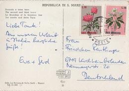 AK Repubblica Di San Marino Seconda E Terza Torre Second Third Tower Briefmarke Stamp Timbre Francobollo Italia Italie - San Marino