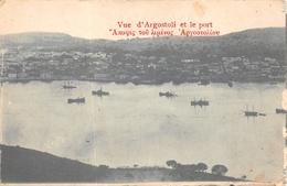 ARGOSTOLI  - Vue Et Le Port ( Voir Description ) - Grèce