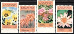 TANZANIA - 1986 - Indigenous Flowers - MNH - Tanzania (1964-...)