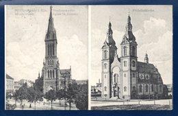68. Mulhouse. Eglises Saint Etienne Et Saint Fridolin. 1910 - Mulhouse