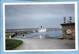 Photo Originale Saint-Malo (35) Chaussée Eric-Tabarly 2 Scans 15,2 Cm X 10,2 Cm - Lieux