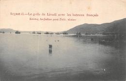 ARGOSTOLI  - Le Golfe De Livadi Avec Les Bateaux Francais - Grèce