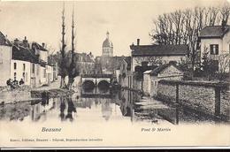 BEAUNE Pont St Martin Ronco Editeur Beaune Timbre Type Blanc 1906 Cachet Beaune - Beaune