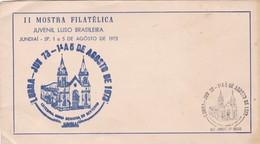 1973 SPC BRASIL II MOSTRA FILATELICA JUVENIL LUSO BRASILEIRA - BLEUP - Brasile