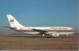 Kenya Airways Airbus A310-304 5Y-BEN At Paris-Orly - 1946-....: Era Moderna