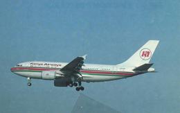 Kenya Airways Airbus A310-304 5Y-BEN - 1946-....: Era Moderna