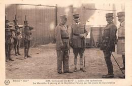 Casablanca Maréchal Lyautet Et Pétain Guerre Du Rif Riff - Casablanca