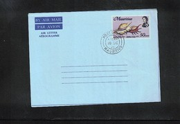 Mauritius Interesting Aerogramme Sauber Gestempelt / Fine Used - Mauritius (1968-...)