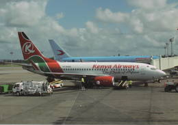 Kenya Airways Boeing B737-7U8  5Y-KQG At Mombasa - 1946-....: Era Moderna