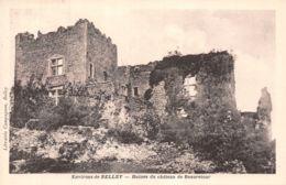 01-BELLEY CHÂTEAU DE BEAURETOUR-N°1075-B/0113 - Belley