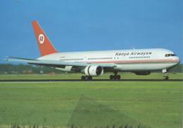 Kenya Airways B.767-33A ER VH-NOE At Paris CDG - 1946-....: Era Moderna