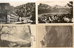 """74 LE FAYET LOT DE 4 Cartes :Tête Noire Et Chaîne Des Fiz - Pouponnière Préventoriale """"la Forêt"""" - Saint-Gervais-les-Bains"""