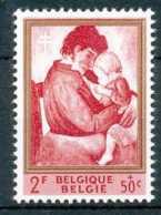 [71540]SUP//**/Mnh-Belgique 1961, ANTITUBERCULEUX, Maternité, Tableaux De Constant Permeke - Art