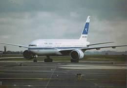 Kuwait Airways B777-269  9K-AOA At CDG - 1946-....: Era Moderna