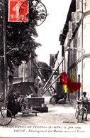 Tremblement De Terre Des (B.-du Rh.) 11 Juin 1909 - SALON - Déménagement Des Maisons Menaçant Ruines - Cartes Postales