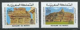 Maroc YT N°754/755 Sauvegarde Du Temple De Borobudur Neuf ** - Marocco (1956-...)