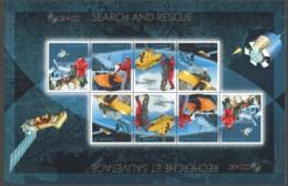 2005  Search And Rescue  Large Souvenir Sheet Of 8  Sc 2111  MNH - 1952-.... Règne D'Elizabeth II