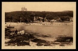 29 - Brest Sainte Anne De Portzic La Plage Et Les Rochers #10240 - Brest
