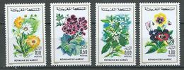 Maroc YT N°726/729 Flore Marocaine Neuf ** - Marocco (1956-...)