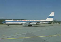 Kuwait Airways Cargo B.707-331C OD-AGS  At Zurigo - 1946-....: Era Moderna
