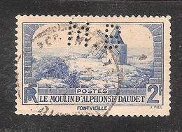 Perforé/perfin/lochung France No 311   M.B Sté Des Mines De Houille De Blanzy - Perforadas
