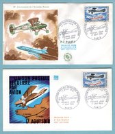 FDC France 1968 - 1ère Liaison Postale Par Avion - YT 1565 - Paris - FDC