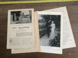 1907 JST FEU MOI MEME JULES PERRIN ILLUSTRATIONS ROCHEGROSSE - Colecciones