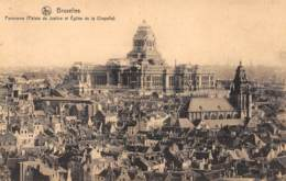 BRUXELLES - Panorama (Palais De Justice Et Eglise De La Chapelle) - Panoramische Zichten, Meerdere Zichten