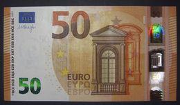 50 EURO W00A1 GERMANY DRAGHI  Serie WA Perfect UNC - EURO