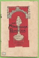 Lisboa - Portugal -  Da Monarquia à República - Marquês De Pombal - Gomes Freire - Manuel Da Silva Passos - Old Books