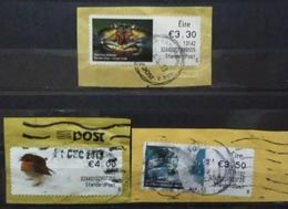 EIRE - IRLANDA. LOTE ATM VALORES ALTOS. USADO - USED. - ATM - Frama (viñetas)