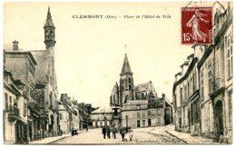 60600 CLERMONT - Eglise Saint Samson - Lot De 2 CPA - Voir Détails Dans La Description - Clermont