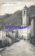 112310 ITALY ALPI APUANE LUCCA THE CHURCH BREAK POSTAL POSTCARD - Italy