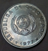 CAPE VERDE , 50 CENTAVOS , 1977 - KM 16 - UNC , Agouz - Cap Vert