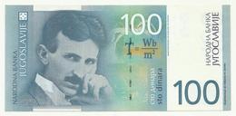 Yugoslavia  Tesla 100 Dinara 2000 , XF - Yugoslavia