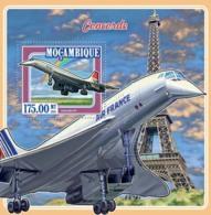 Mozambique 2015 Concorde ,airplane - Mozambique