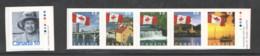 2004  Flag Over Various Sceneries Strip Of 5 From Biiklet, Qn Elizabeth $0,50 Definitive Sc 2075-80 - Ungebraucht