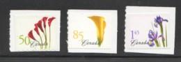 2004  Flower Definitives  - Coil  Singles Sc 2072-4 - Ungebraucht