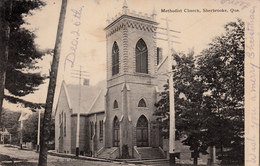 Sherbrooke Québec - Église Méthodiste - Methodist Church - Dos Simple Back - W.H. Griffiths - Written - 2 Scans - Sherbrooke