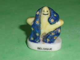 Fèves / Pays / Région : étoile , Belgique T12 - Pays