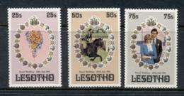 Lesotho 1981 Royal Wedding Charles & Diana MUH - Lesotho (1966-...)