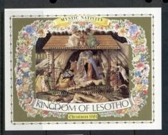 Lesotho 1981 Xmas Nativity MS FU - Lesotho (1966-...)