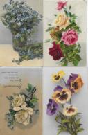 AK 0237  Blumen - Konvolut Von 4 Karten Um 1910-20 - Blumen