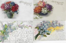AK 0237  Blumen II - Konvolut Von 4 Karten Um 1910-20 - Blumen