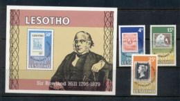Lesotho 1979 Rowland Hill + MS MUH - Lesotho (1966-...)