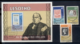 Lesotho 1979 Rowland Hill + MS FU - Lesotho (1966-...)