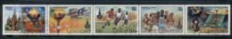 Lesotho 1980 Summer Olympics Moscow Str5 FU - Lesotho (1966-...)