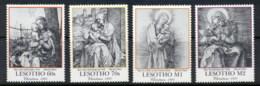 Lesotho 1991 Xmas, Durer Etchings (4/8) Muh - Lesotho (1966-...)